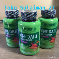 Naturelo One Daily Multivitamin isi 60 Caps Vit Tulang Jantung Wanita