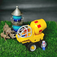 Mainan lego transportasi dawter kendaraan mobil truck 4in1 education