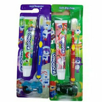 Kodomo pasta & sikat gigi anak + bonus mainan anak