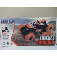 Mainan Mobil Remote Control Rock Cross Country Lateral Dancing 1:18
