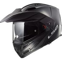 LS2 FF324 METRO EVO RAPID MATT BLACK | HELM MOTOR MODULAR | L - 3XL