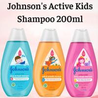 Jonhsons Active Kids Shampoo 200ml/Johnson baby kids shampoo/ Johnson