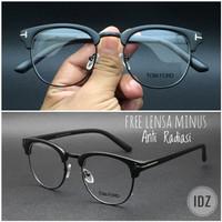 Frame Kacamata Clubmaster 813 Kacamata Gaya Kekinian Free Lensa Minus