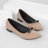 Guzzini FB 056 Moca - Sepatu Flat Wanita Kasual