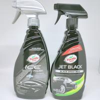 Turtle Wax Black Paint Combo ( Ice Black Polish+ Jet Black Spray Wax)