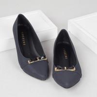 Guzzini FB 056 - Biru Navy - Sepatu Flat Wanita Kasual