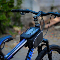 Tas Sepeda Waterproof Bike Bag with Smartphone by FUNCOVER