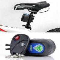 Alarm Sepeda dengan Remote Control Motor