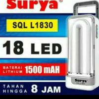 Lampu Emergency Surya SQL L 1830 / Lampu Darurat LED
