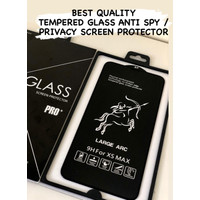 Tempered glass anti spy/privacy iphone xs max/11 pro max Best Quality