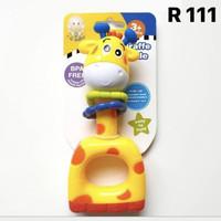 mainan bayi SNI rattle Jerapah