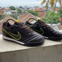 Sepatu Futsal Nike Gato 5 Dark Brown IC