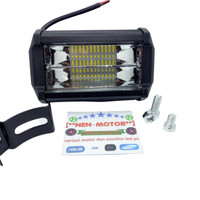 lampu led tembak sorot mobil motor led 24 mata 2 susun super terang