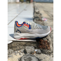 sepatu running ortuseight original new COLOSUS grey navy offwhite 2020
