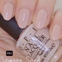 OPI Lacquer (Nail Polish) Samoan Sand P61