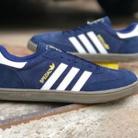 Sepatu Adidas Spezial Biru Putih / Samba / Hamburg / Munchen Murah