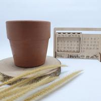 Pot Tanah Liat Size 10cm Pot Kaktus, Succulent dan Tanaman mini