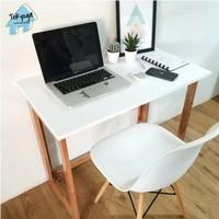 Meja kerja minimalis portable/meja belajar P80cm BEST SELLER