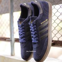 Sepatu Adidas Spezial / Hamburg / Samba / Munchen Navy Black Murah