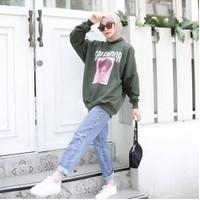 Sweater Hoodie Wanita Style (SRIENDOR BABY DOLL)
