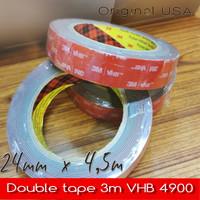 Double tape 3M Original VHB 4900 / Perekat emblem mobil - 12mm