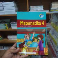 Buku matematika kls 4 SD/MI Quadra