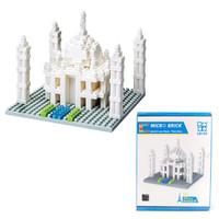 Mainan lego puzzle micro brick bangunan - mesjid