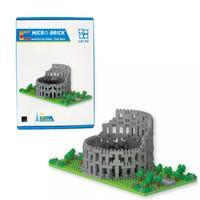 Mainan lego puzzle micro brick bangunan - roma