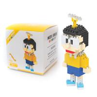 Mainan lego puzzle micro brick doraemon - nobita