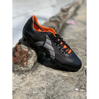 Sepatu bola Ortuseight original Raptor FG black silver orange new 2020