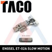 Engsel Sendok Stainless TACO ET02-A Lurus Engsel Stainless