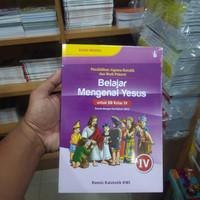 Buku belajar mengenal yesus kls 4 SD