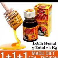 Madu diet pelangsing ath thoifah original asli obat herbal langsing