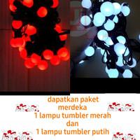 lampu tumbler merah putih agustusan