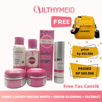 Ulthyme skincare official paket luxury super glowing