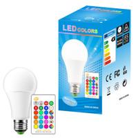 BONDA Lampu Bohlam RGB dengan Remote Control E27 10W - B5