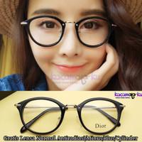 Frame Kacamata Minus Baca Wanita Korea Vintage Harlow