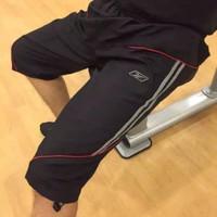 Celana olahraga training reebok 3/4 bahan parasut
