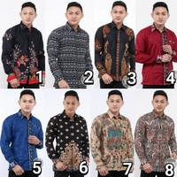 Kemeja batik hem terbaru termurah motif modern