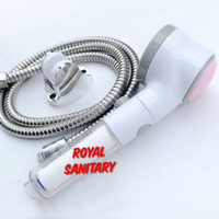 Hand shower set Mandi Hemat air Filter&sikat-saving shower Mandi onoff