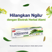 Pasta Gigi Sensodyne Herbal 100 gr