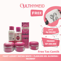 Ulthyme skincare official paket luxury super flawless