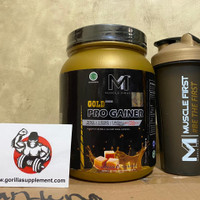 MUSCLEFIRST PRO GAINER GOLD SERIES 2LBS 912 GR M1 NUTRION MUSCLEFIRST