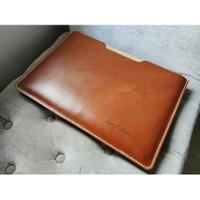 Premium leather laptop tablet phone sleeve case