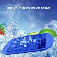 Silicone Cetakan Es Batu 160 cube Kecil Flexible Ice Cube Tray