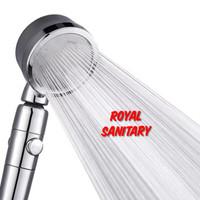 Hand shower Mandi set-Hand Shower hemat air bisa di putar 360 ON OFF