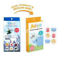 stiker anti nyamuk anak / bayi by nokito