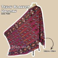Kain_Usang | Tenun Blanket Halusan FG03| Kain Tenun Etnik | Tenun Ikat