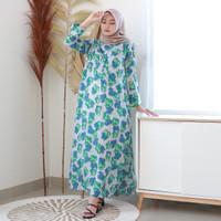 Fashion Baju Gamis Dress Tunik Muslim Wanita Lifa Homey Dress
