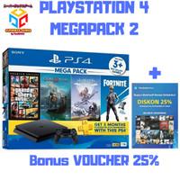 SONY PS4 SLIM MEGAPACK 2 BUNDLE 1TB PS 4 MEGA PACK 2